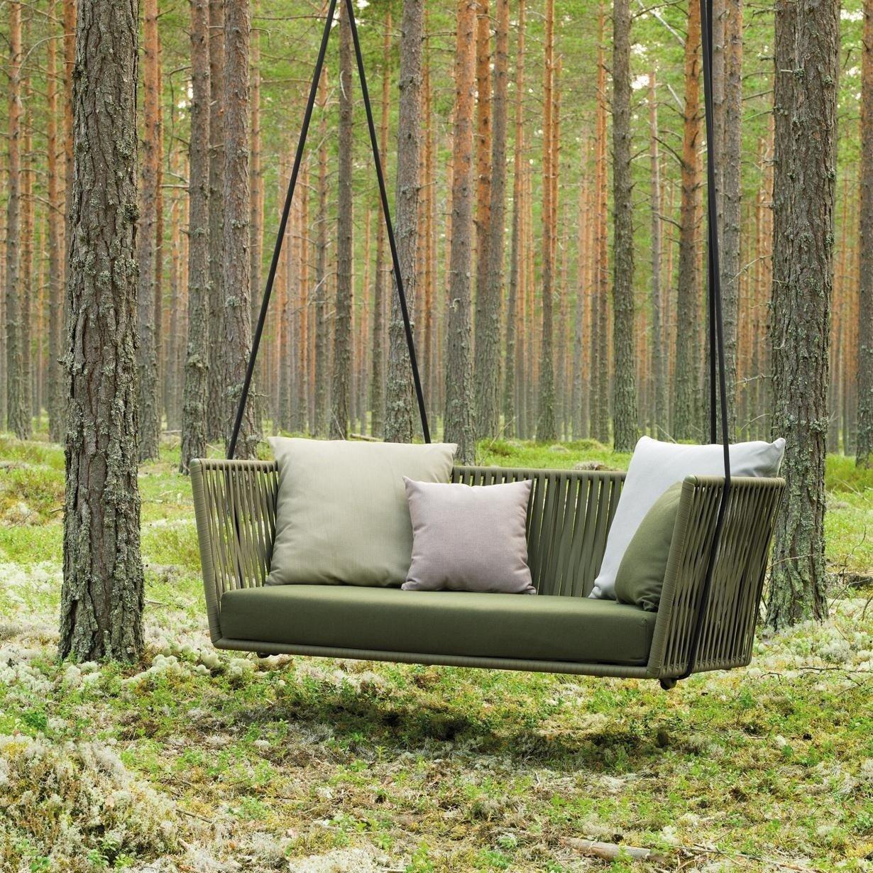 Kettal Bitta Swing - Sofá de jardín/columpio | AmbienteDirect