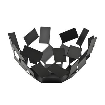 Alessi - La Stanza dello Scirocco Obstschale - schwarz/lackiert/Stahl