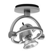 - miniFariuno soffitto LED-Deckenleuchte - silber/13,3x9,5.x15,0cm/2700K
