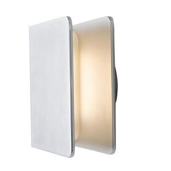 Authentics - Entrance LED Außenleuchte - aluminium/inkl. Bohrschablone +V2A-Befestigungsmaterial/inkl. Leuchtmittel
