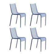 Driade - Set de 4 silla de jardín Pip-e