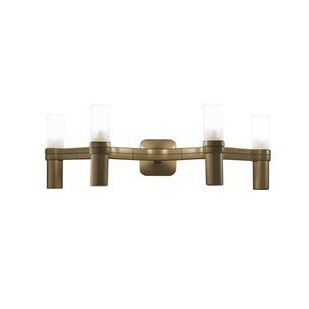 Nemo - Crown 4 Wandleuchte - gold/gold überzogen/BxHxT 48x16x30cm