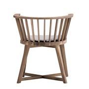 Gervasoni - Gray 24 - Chaise avec Accoudoirs