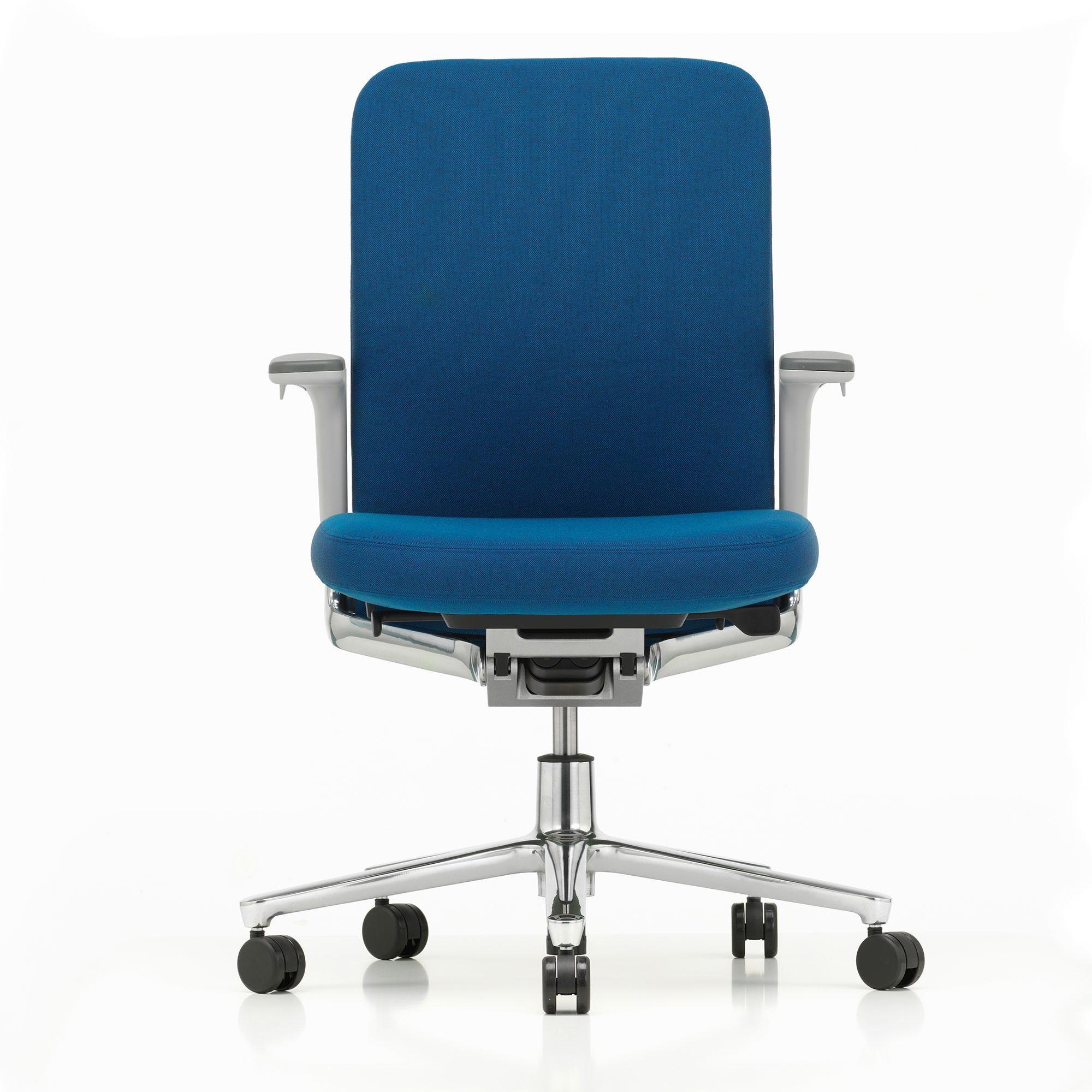 vitra pacific chair b rostuhl niedrige r ckenlehne ambientedirect. Black Bedroom Furniture Sets. Home Design Ideas