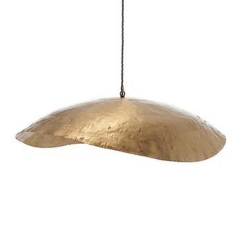 Gervasoni - Brass 96 Pendelleuchte - messing/matt/H 15cm/Ø 120cm