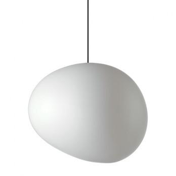 Foscarini - Gregg Outdoor X-large Pendelleuchte - weiß/Kunststoff/Größe 3/LxBxH 60x53x50cm