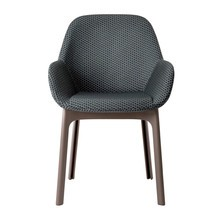 Kartell - Clap Armchair Fabric With Relief