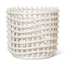 ferm LIVING - Ceramic Korb L
