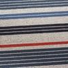 Chilewich - Shag Mixed Stripe Fußmatte 46x71cm - Montauk/für Innen- und Außenbereich geeignet
