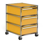 USM  Möbelbausysteme  - USM Haller Rollcontainer mit 3 Schubladen