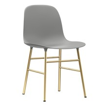 Normann Copenhagen - Form Stuhl Gestell Messing