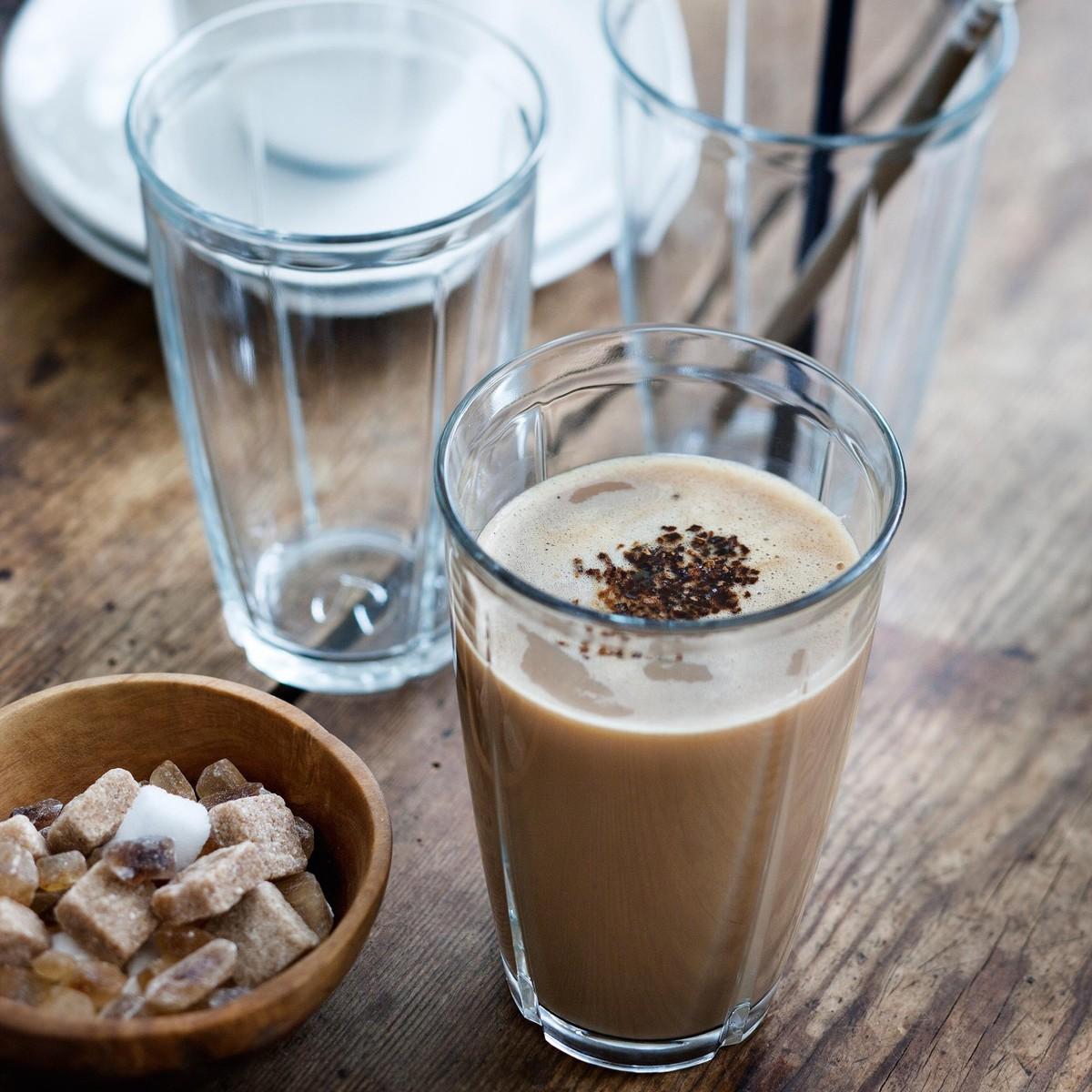 grand cru soft latte macchiato glass set of 4 rosendahl. Black Bedroom Furniture Sets. Home Design Ideas