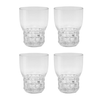 Kartell - Jellies Family Weingläser-Set 4tlg. - glasklar/transparent
