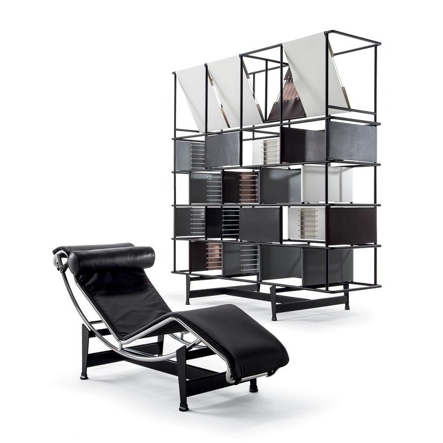 le corbusier lc4 lounger cassina cassina. Black Bedroom Furniture Sets. Home Design Ideas