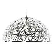Moooi - Raimond Dome - Lámpara de suspensión - acero inoxidable/ 79 LEDs/Ø74cm