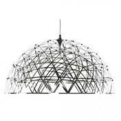 Moooi - Raimond Dome Pendelleuchte - edelstahl/ 79 LEDs/Ø74cm