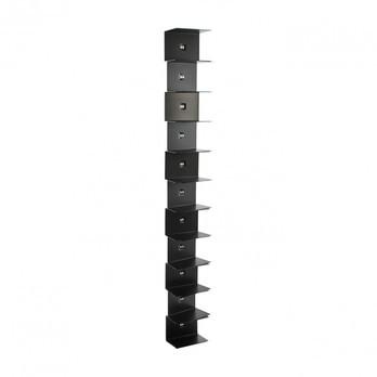 Opinion Ciatti - Ptolomeo Wall 155 Büchersäule - schwarz/lackiert