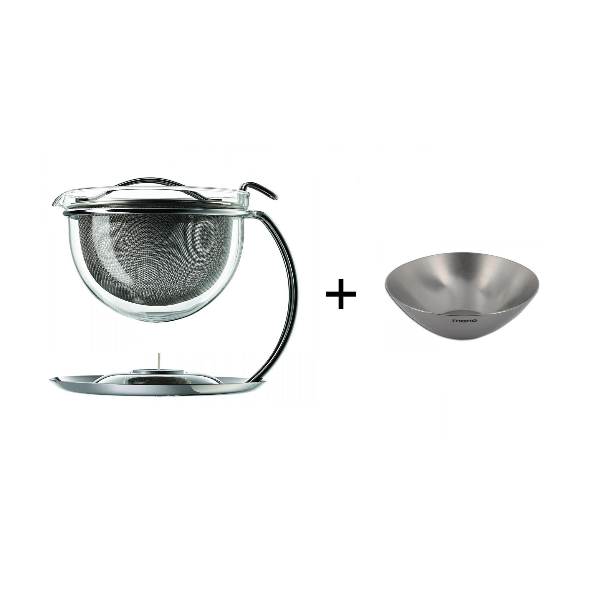 Mono Aktionsset Teekanne Mit Stövchen Siebablage Ambientedirect