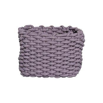 - Bloomingville Textile Aufbewahrungskorb - lila/LxBxH 27x21x20cm