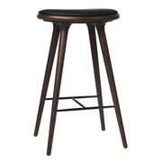 Mater - High Stool Beech Base H 74cm