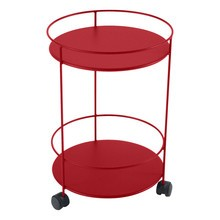 Fermob - Guinguette Garden Side Table On Wheels