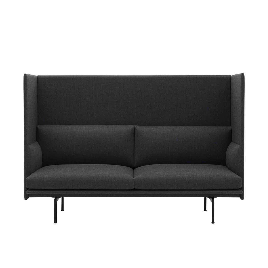 Outline Highback Sofa 2 Seater