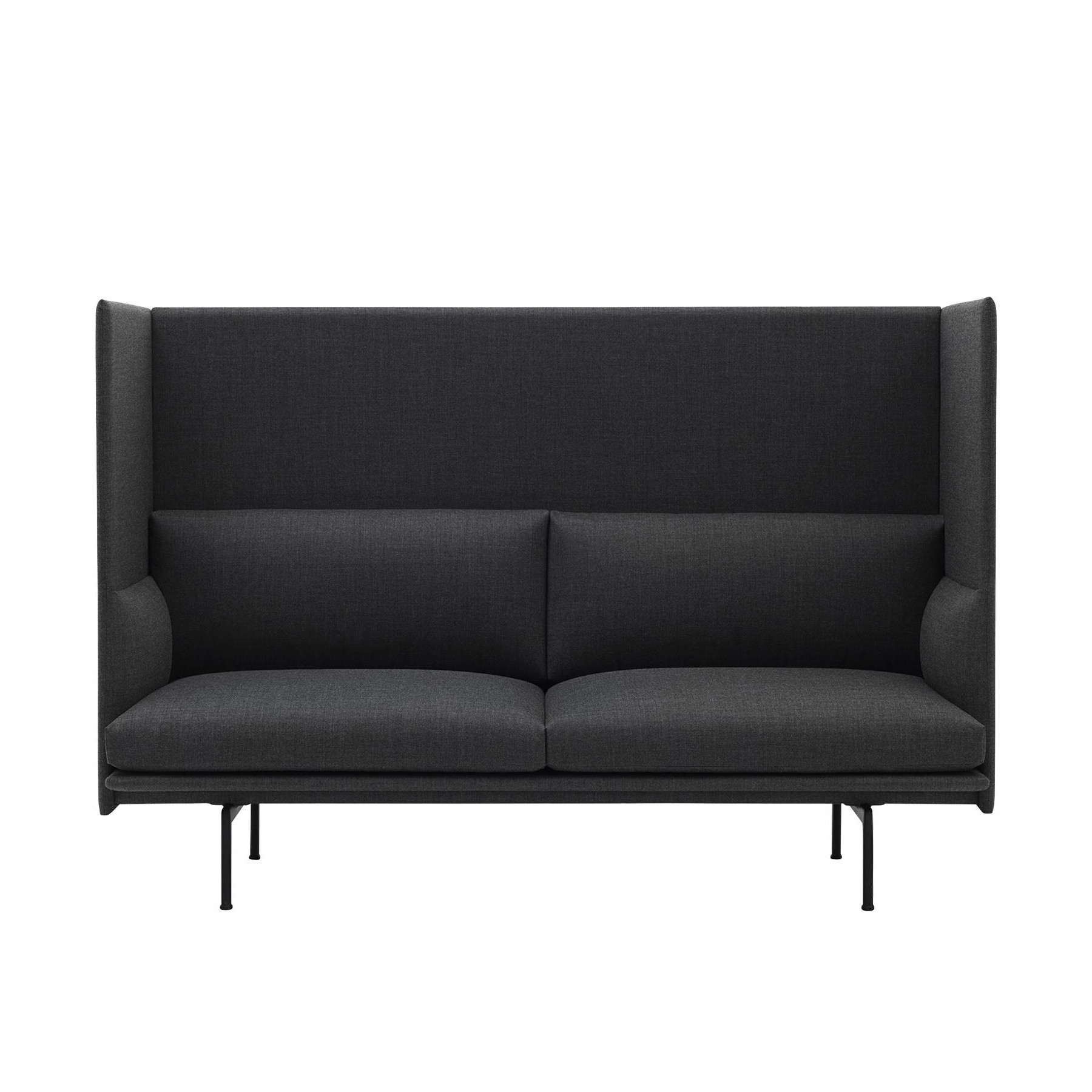 Outdoor Patio Couch Set, Muuto Outline Highback Sofa 2 Seater Ambientedirect