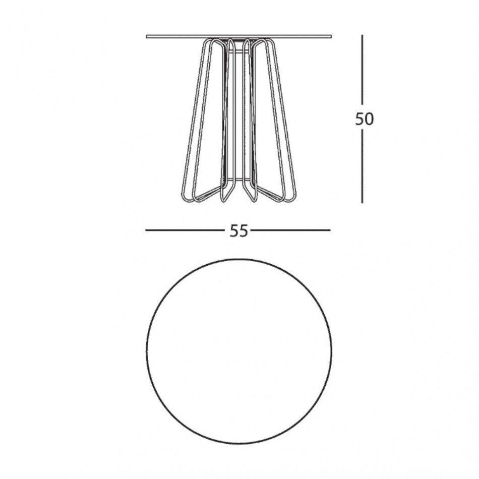 Zanotta smallwire coffee table ambientedirect zanotta smallwire coffee table line drawing keyboard keysfo Images