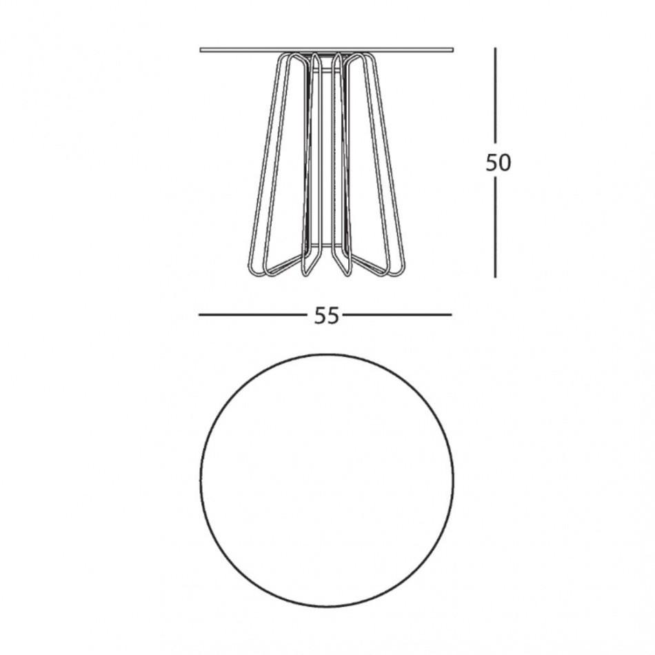 Smallwire coffee table zanotta ambientedirect zanotta smallwire coffee table line drawing greentooth Gallery