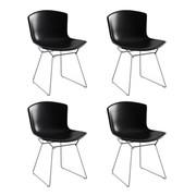 Knoll International - Bertoia Side Chair Frame Chrome Set of 4