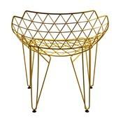 Wilde + Spieth - CU! Stuhl - gelb/glänzend/stapelbar/für Innen- und Außenbereich