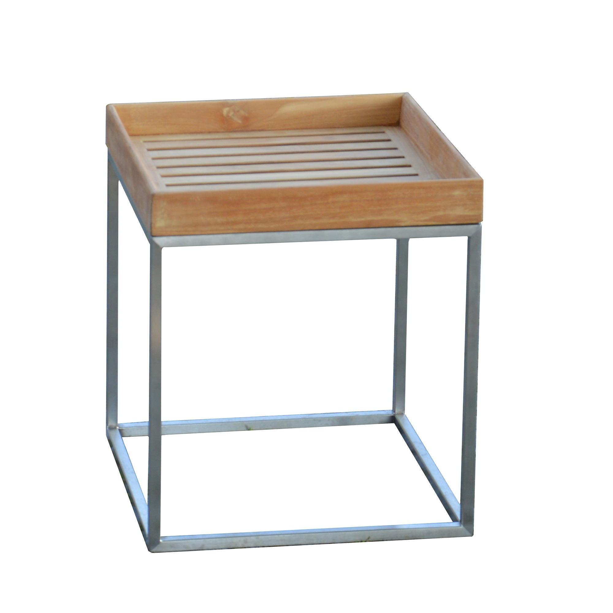 Side Table Teak.Pino 40 Teak Side Table