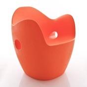 Moroso - O-Nest Sessel - orangerot