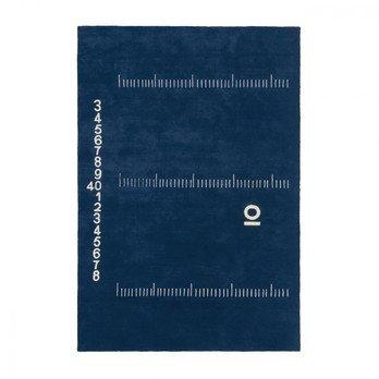 ClassiCon - Centimetre Wollteppich - dunkelblau/100% reine Wolle/300x200cm/Lieferbar ab April 2017
