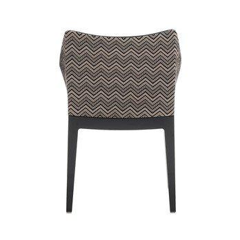 Kartell - Madame Regular Armlehnstuhl - beige/Gestell schwarz