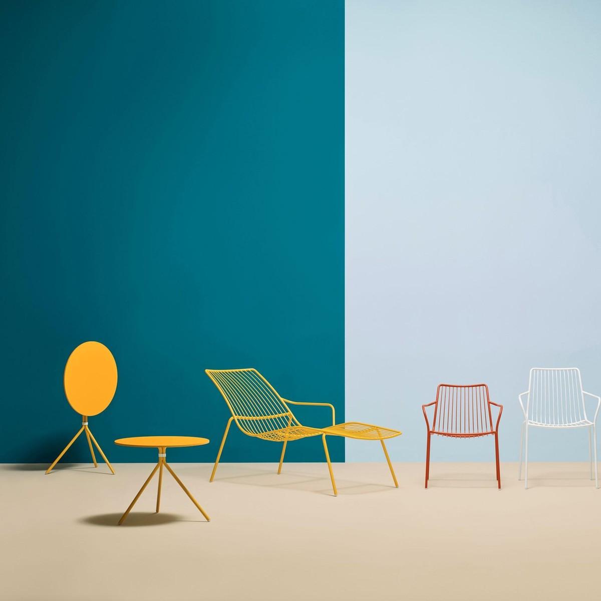 nolita 3650 garden chair low backrest pedrali. Black Bedroom Furniture Sets. Home Design Ideas