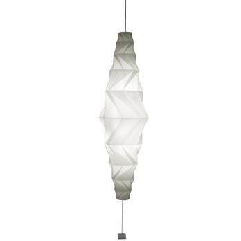Artemide - IN-EI Minomushi LED Pendelleuchte - weiß/1743 lm/inkl. Leuchtmittel/Lichtfarbe 3000 Kelvin warmweiß/H 195cm/Ø 62cm