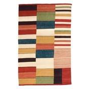 Nanimarquina - Medina 2 Woll-Teppich - rot/orange/afghanische Wolle/200x300cm