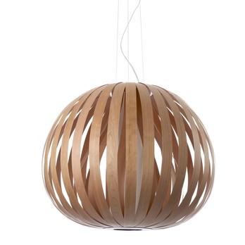 LZF Lamps - Poppy SM Pendelleuchte - kirsche/matt/Ø73cm/H60cm/ohne Leuchtmittel/Dimmer