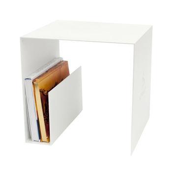 Röshults - Murray Beistelltisch - weiß/40x40x40cm