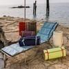 Weishäupl - Balcony Polsterauflage Sonnenliege - wasserblau/Dolan®/200x60x3cm