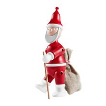 Kay Bojesen Denmark - Kay Bojesen Wooden Figurine Santa Claus