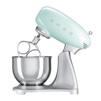 Smeg - SMEG SMF01 Küchenmaschine - hellgrün/pastellgrün/lackiert/4,8L Edelstahlschüssel/800W/10 Geschwindigkeits-Stufen mit Soft-Start