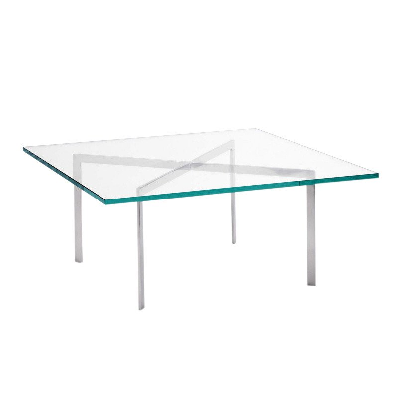 Superbe Knoll International   Barcelona Mies Van Der Rohe Coffee Table ...