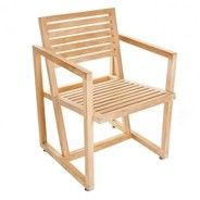 Jan Kurtz - Timber - Tuinarmleunfauteuil