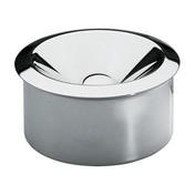 Alessi - 90010/I Aschenbecher - edelstahl/glänzend poliert