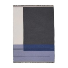 ferm LIVING - Colour Block Throw Plaid/Tagesdecke
