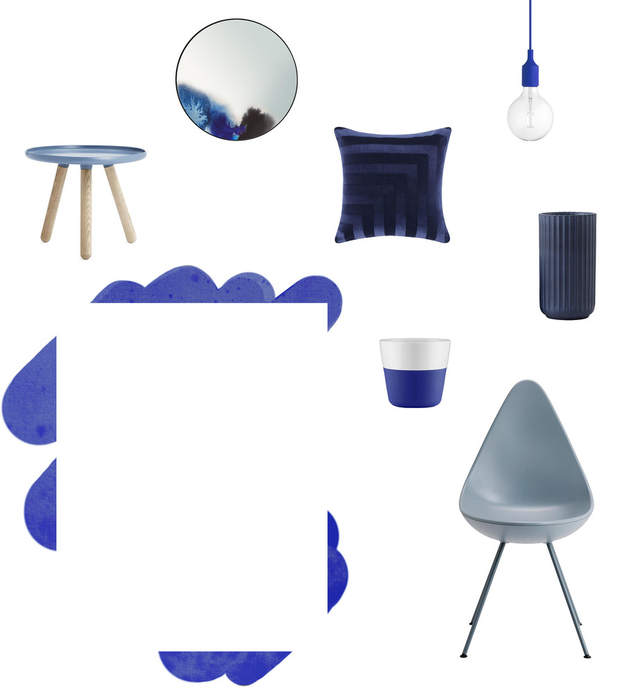 Shop the look Blau - Header