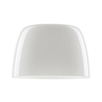 Foscarini - Lumiere Grande Ersatzschirm - weiß/Glas/H 17cm/Ø 26cm