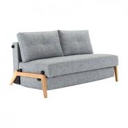 Innovation - Canapé-lit Cubed 02 chêne 147x96cm